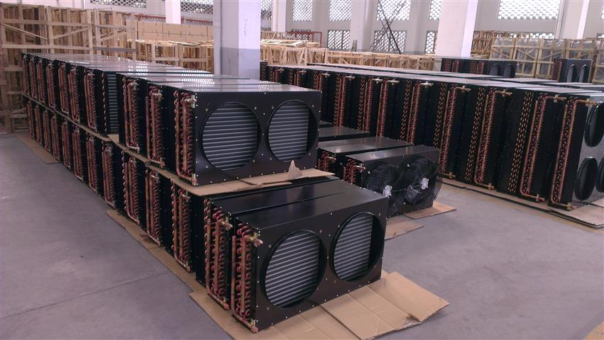 Condensers waiting in line