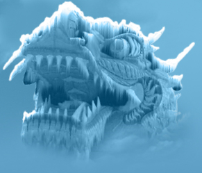 JYT Cooling frozen dragon picture